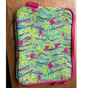 Lilly Pulitzer iPad Tech Sleeve Tablet Case Leaf